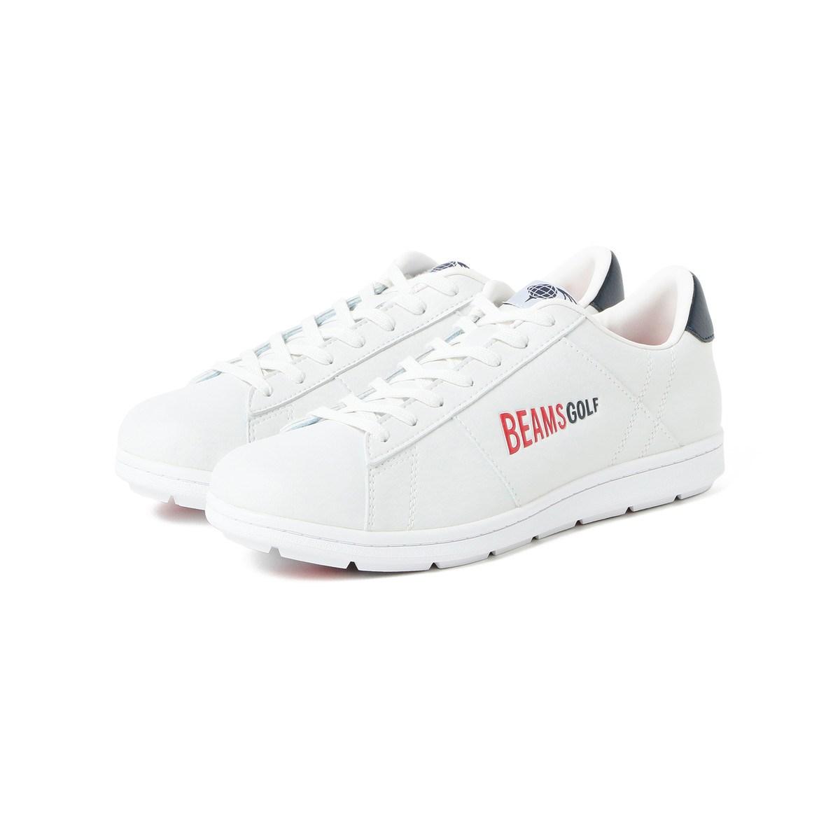 [定番モデル] ビームスゴルフ BEAMS GOLF BRIDGESTONE GOLF×BEAMS GOLF 別注 ZSP-BITER ゴルフシューズ 2 ホワイト 01 メンズ