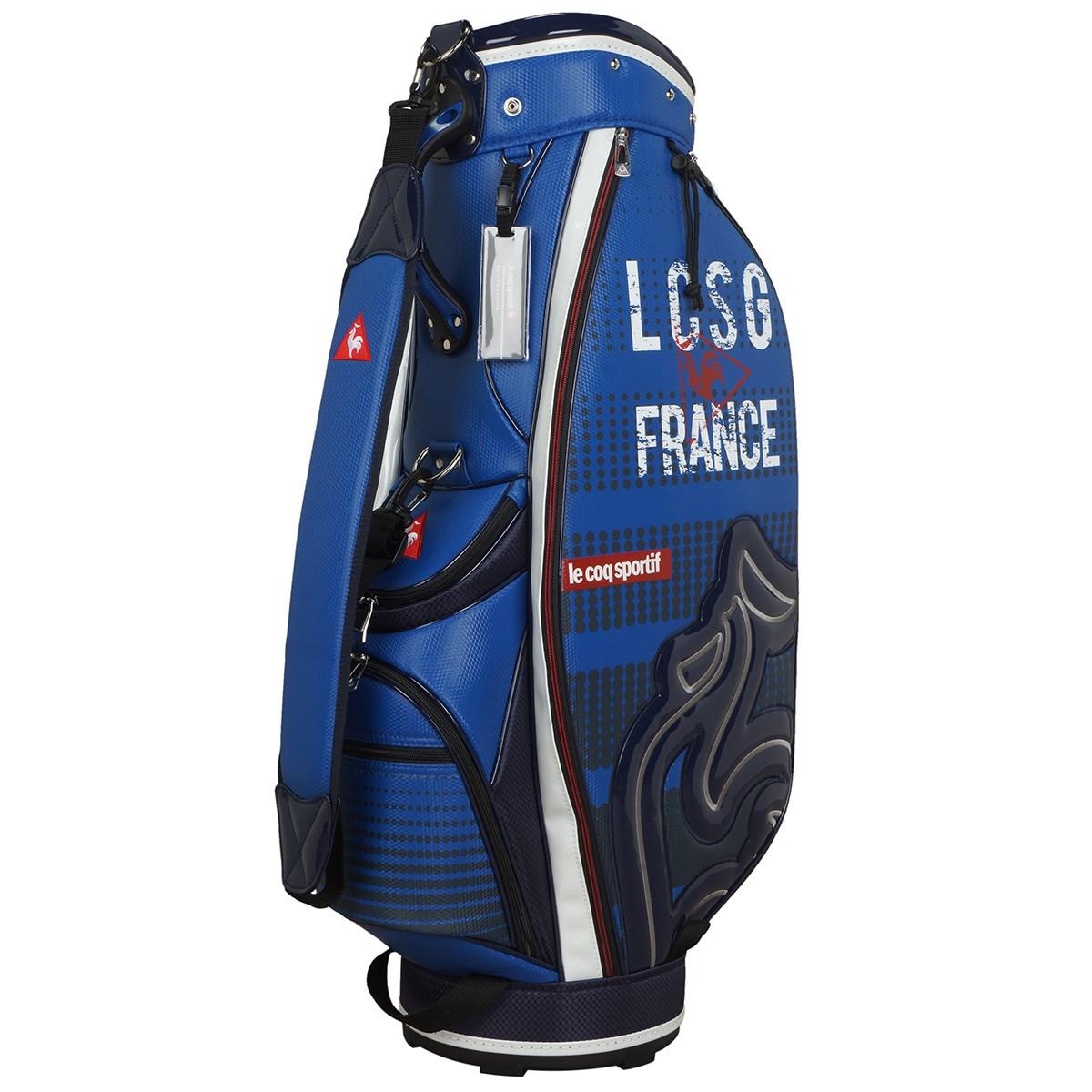 ルコックゴルフ Le coq sportif GOLF キャディバッグ ブルー 00