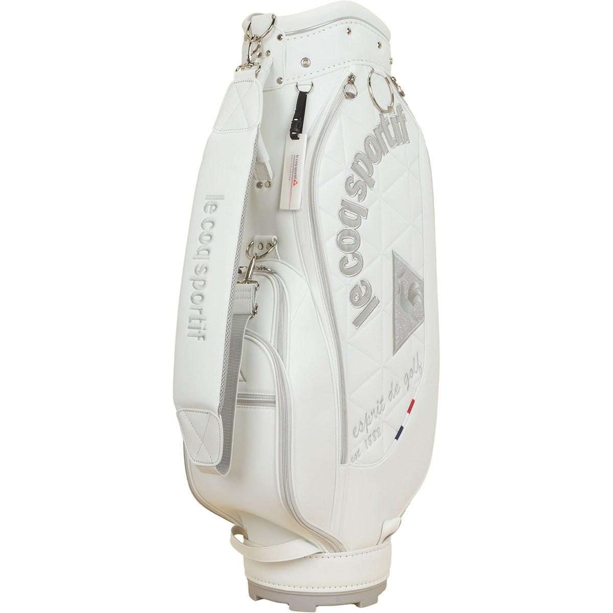 ルコックゴルフ Le coq sportif GOLF キャディバッグ ホワイト 00 レディス