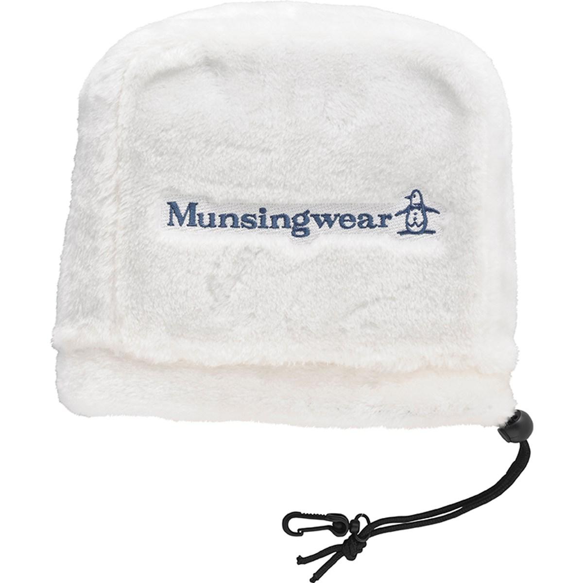 マンシングウェア Munsingwear アイアンカバー ホワイト 00
