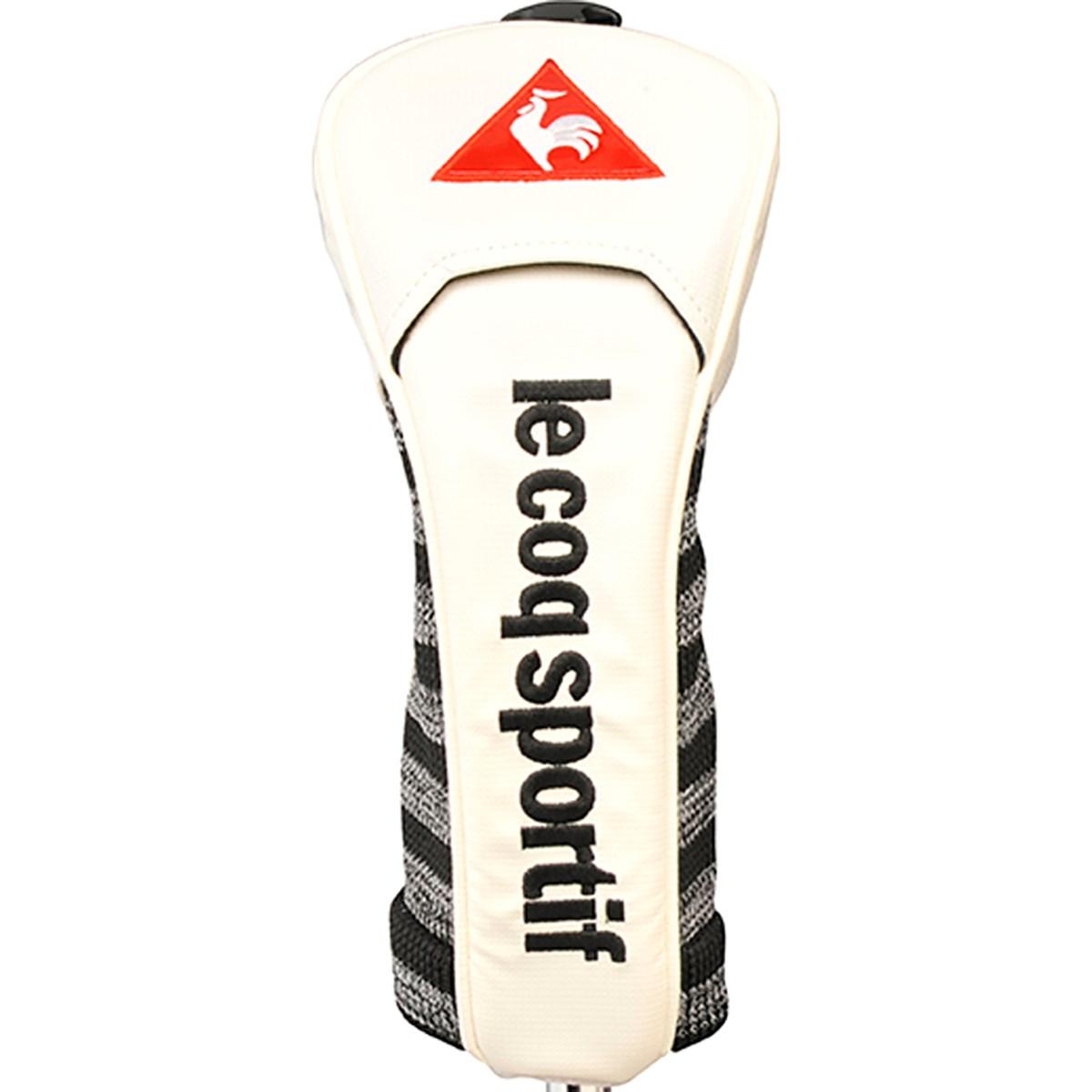 ルコックゴルフ Le coq sportif GOLF ヘッドカバー FW用 有り/ダイヤル式(3、4、5、7、X) ホワイト 00