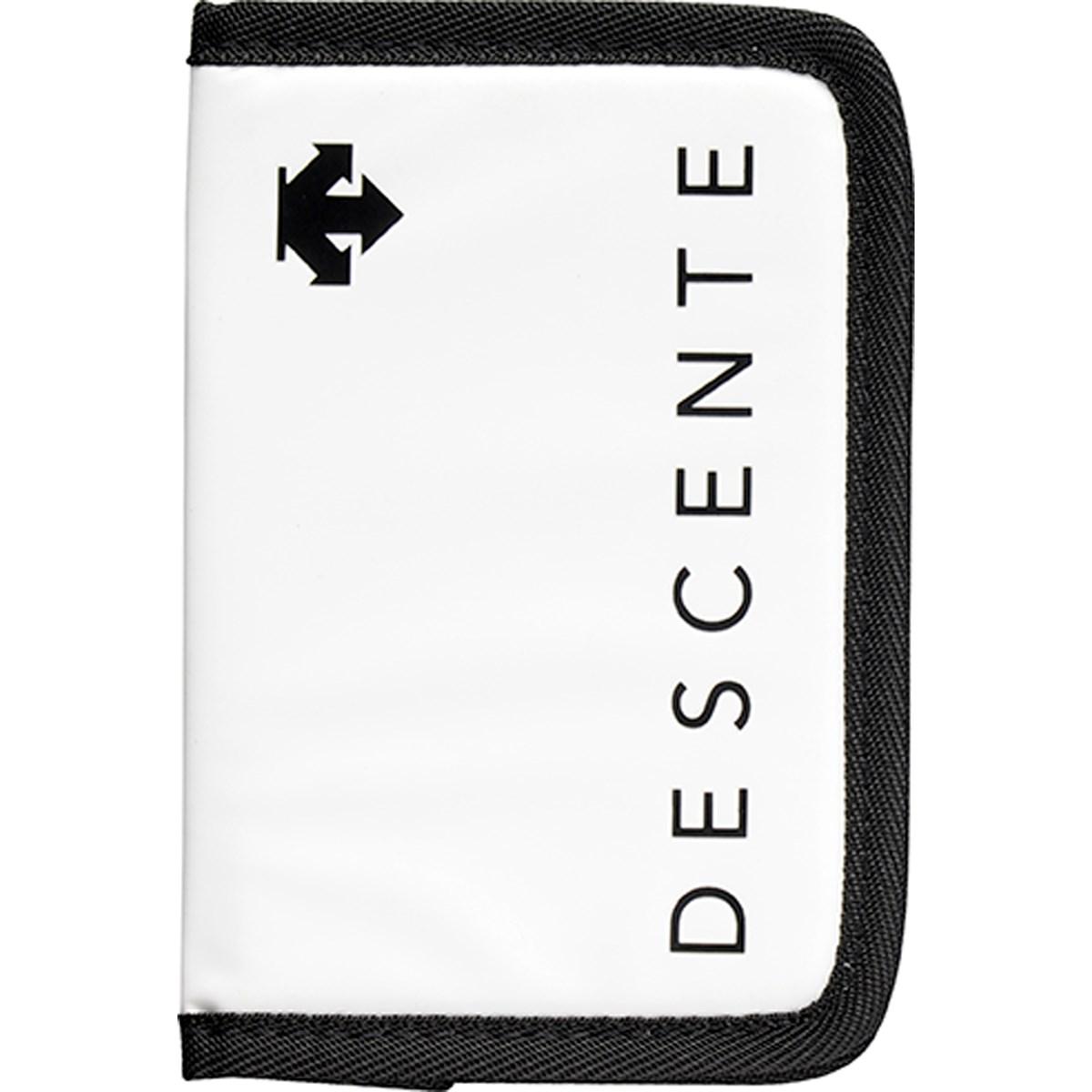 デサントゴルフ DESCENTE GOLF スコアカードケース ホワイト 00