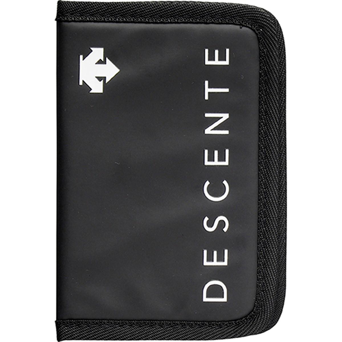 デサントゴルフ DESCENTE GOLF スコアカードケース ブラック 00