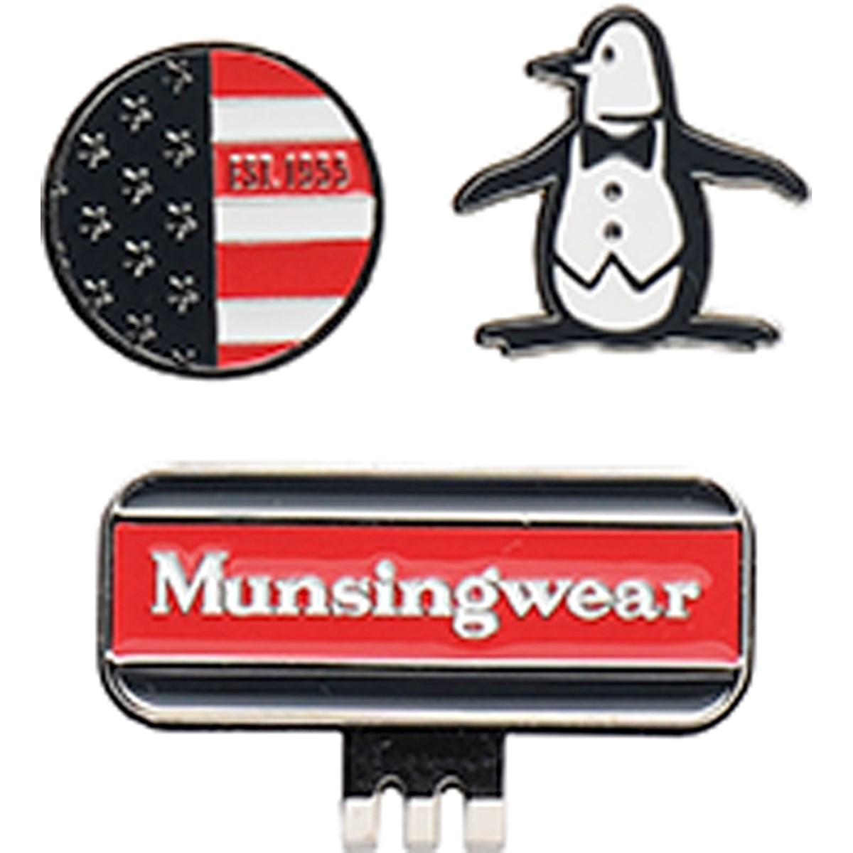 [定番モデル] マンシングウェア Munsingwear マーカー 2個セット ネイビー 00 メンズ ゴルフ