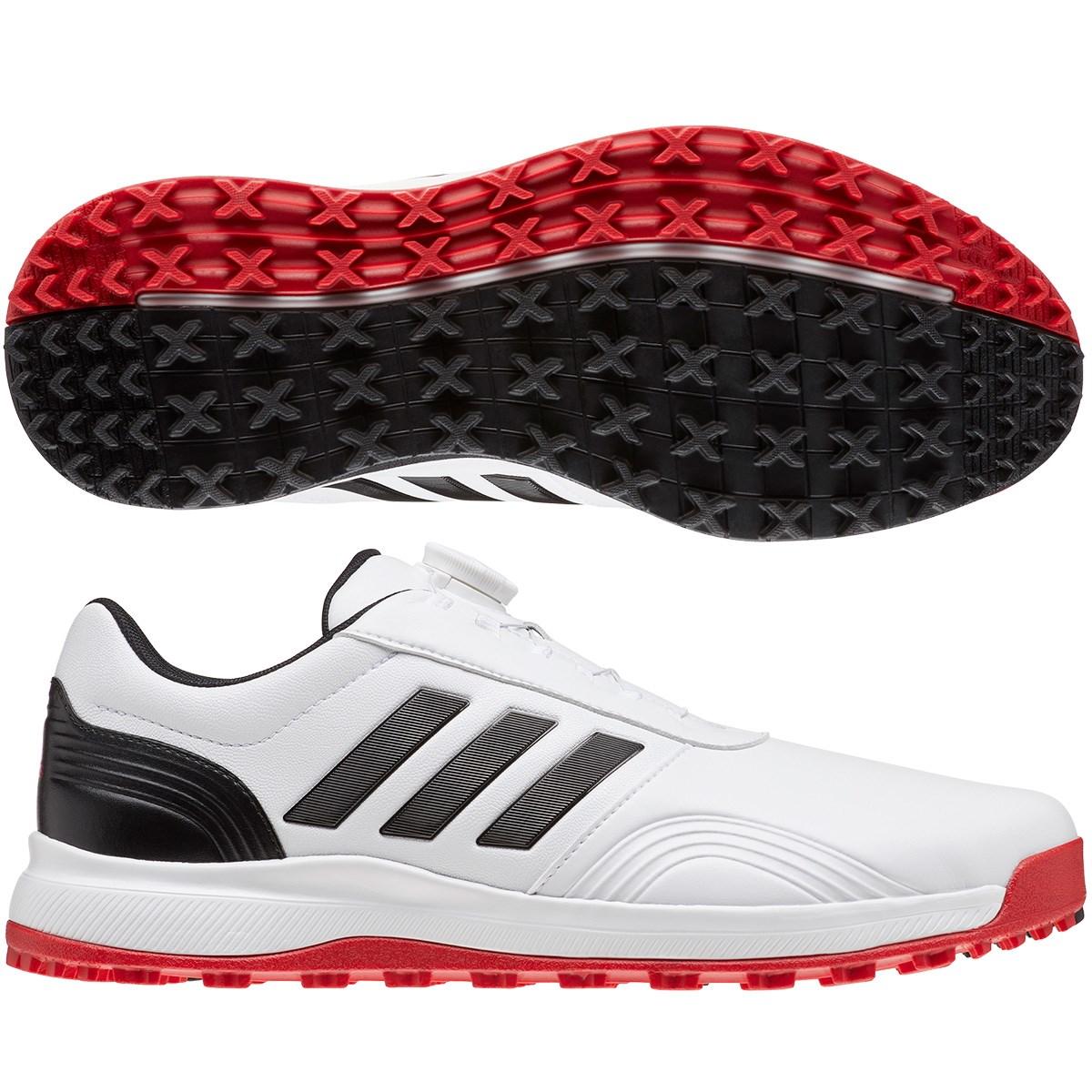 アディダス Adidas CP トラクション SLBOA シューズ 26.5cm ホワイト/コアブラック/スカーレット