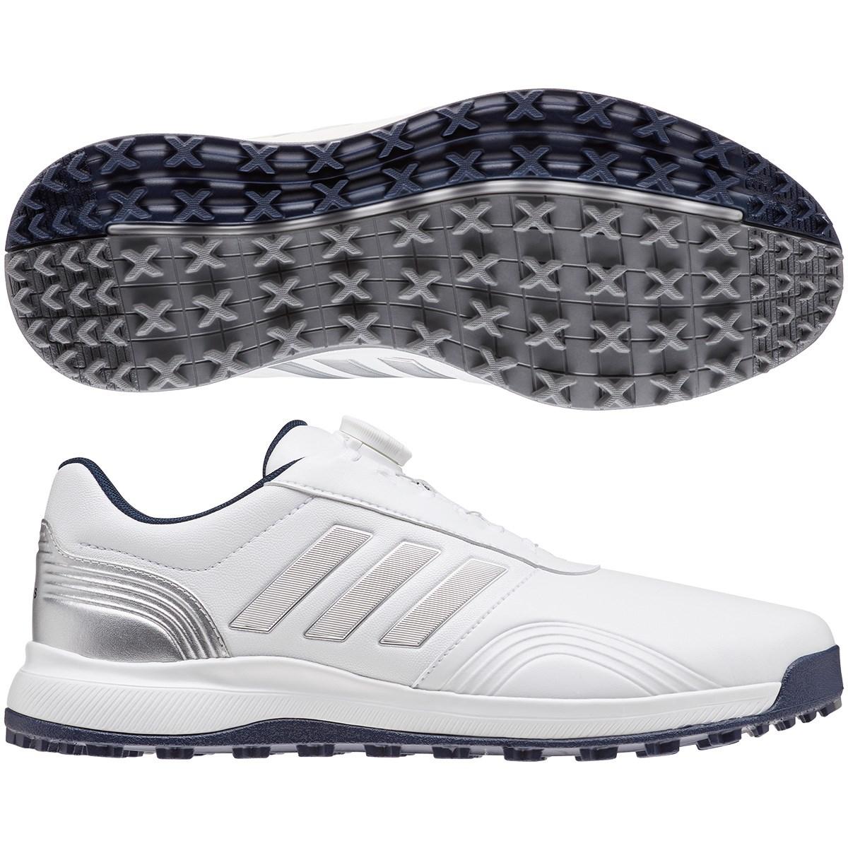 アディダス Adidas CP トラクション SLBOA シューズ 26.5cm ホワイト/シルバーメタリック/カレジエイトネイビー