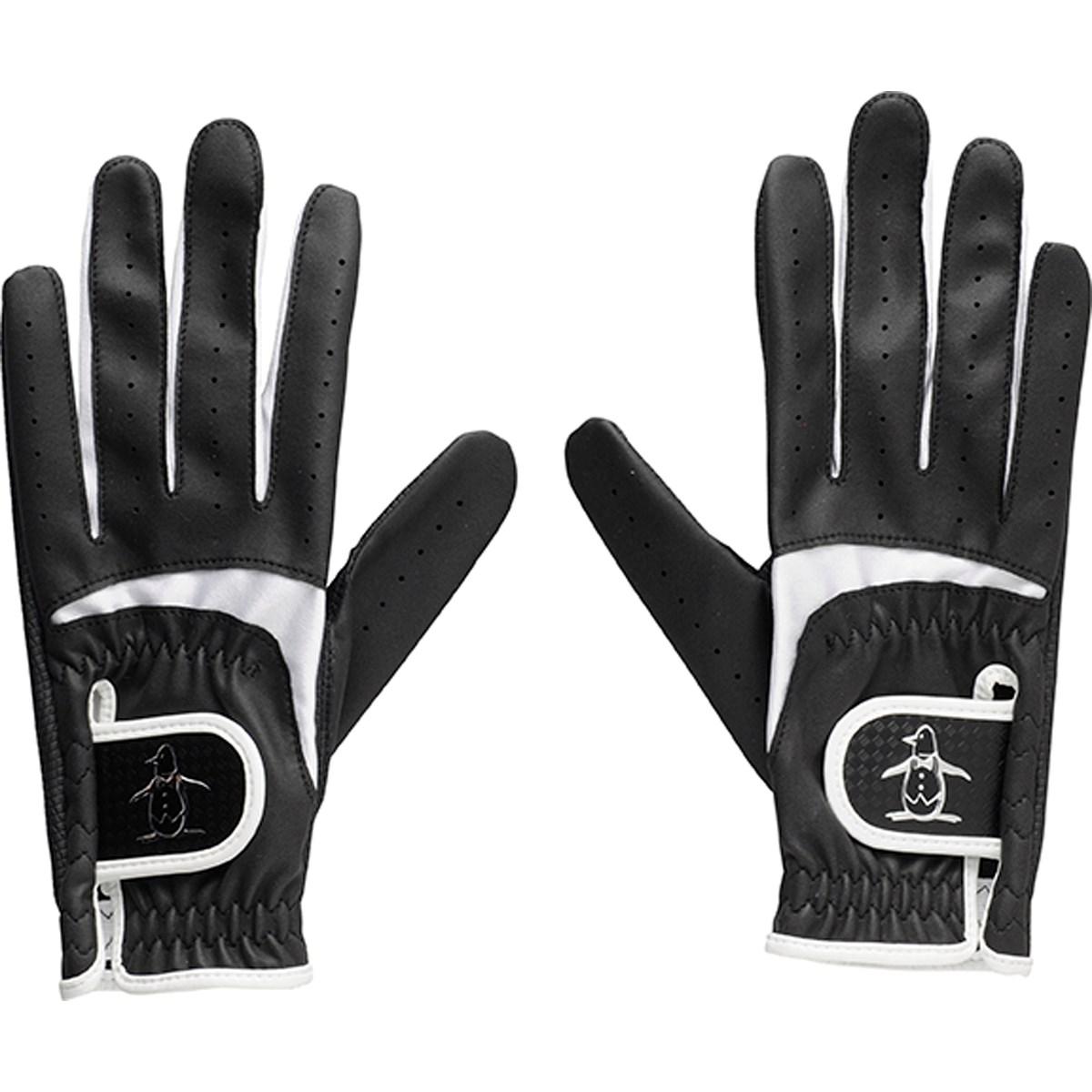 マンシングウェア Munsingwear ゴルフグローブ 両手用 M 両手用 ブラック 00 レディス