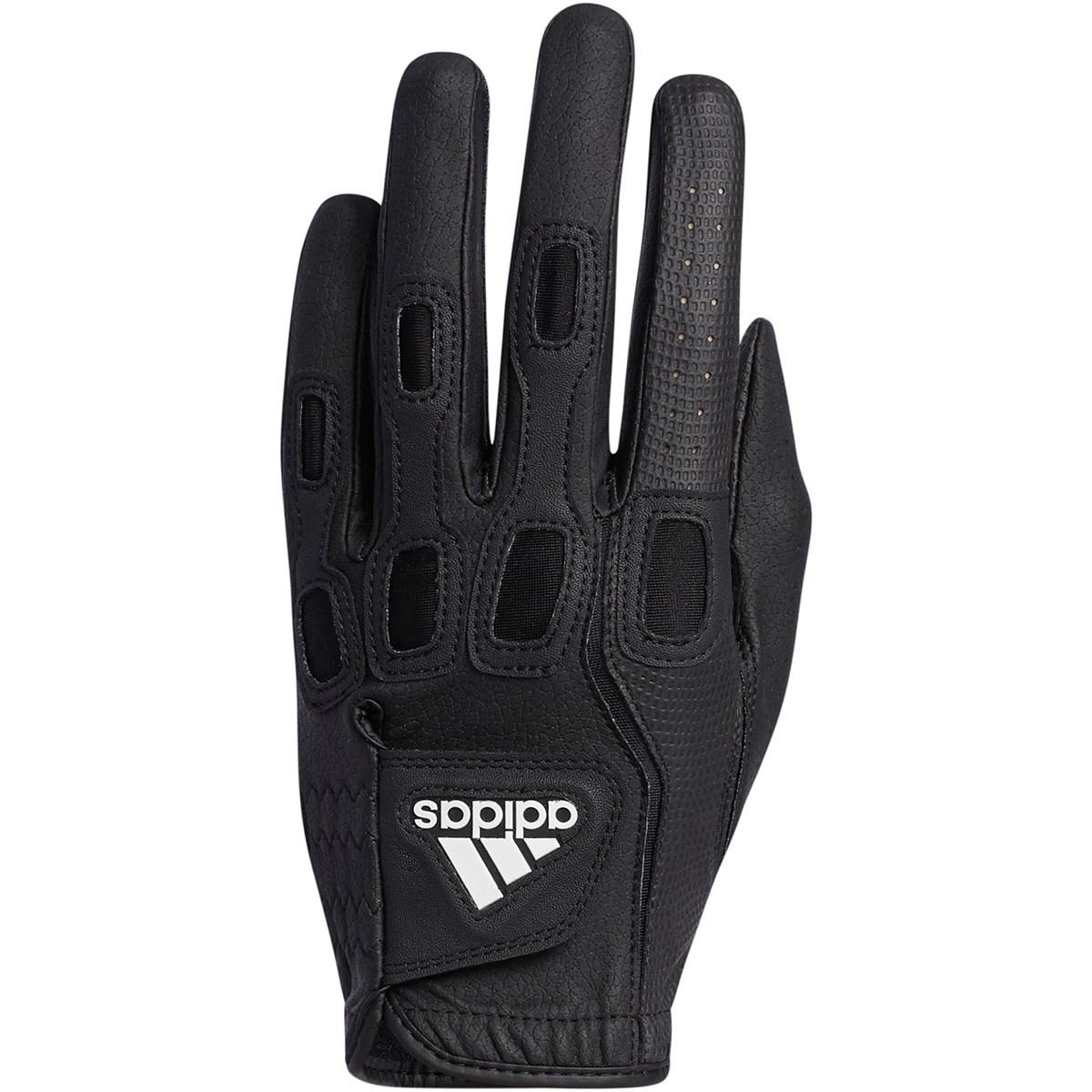 アディダス Adidas マルチフィット9 グローブ レフティ 21cm 右手着用(左利き用) ブラック/ホワイト