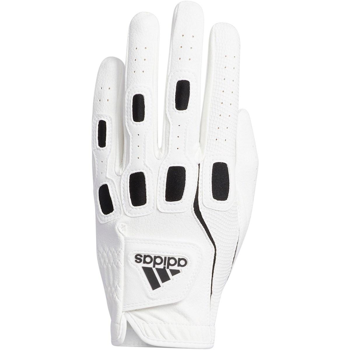 アディダス Adidas マルチフィット9 グローブ レフティ 21cm 右手着用(左利き用) ホワイト/ブラック