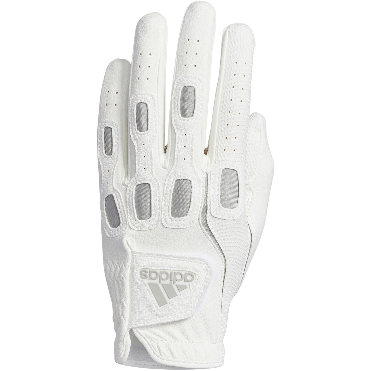 アディダス Adidas マルチフィット9 グローブ 21cm 左手着用(右利き用) ホワイト/グレー
