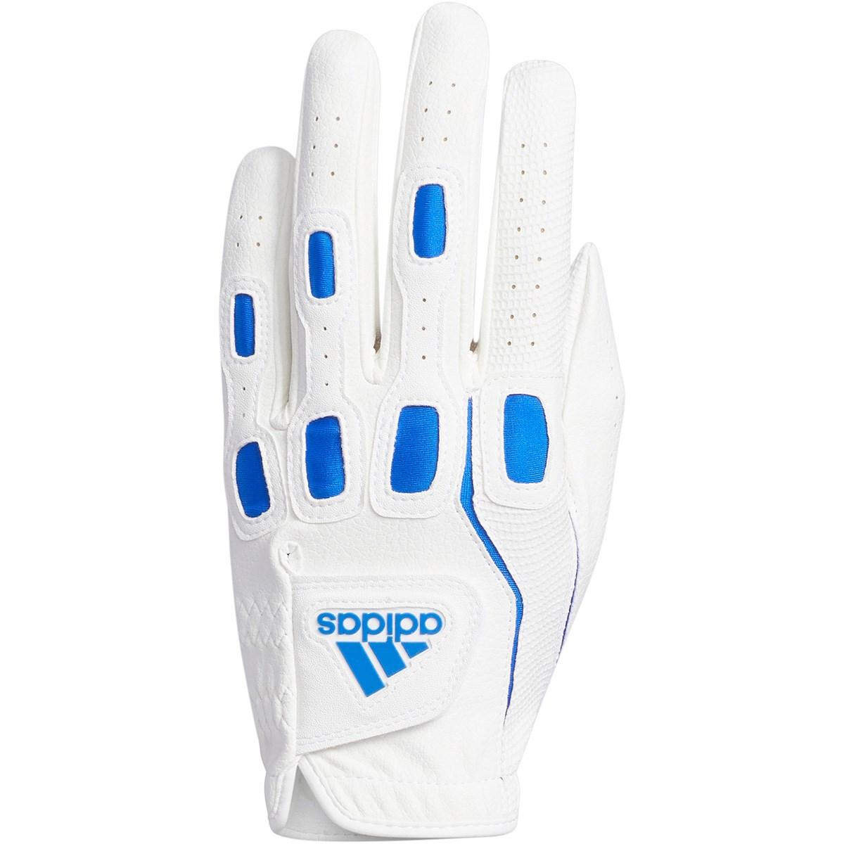 アディダス Adidas マルチフィット9 グローブ 23cm 左手着用(右利き用) ホワイト/グローリーブルー