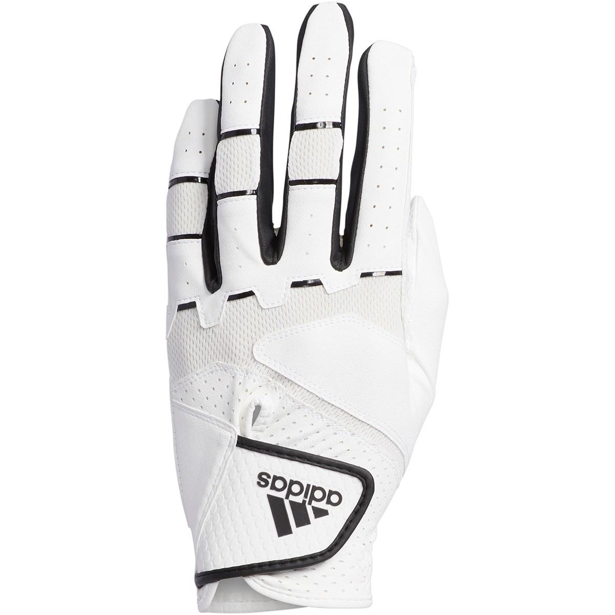 アディダス Adidas ノンスリップ20 グローブ 21cm 左手着用(右利き用) ホワイト/ブラック