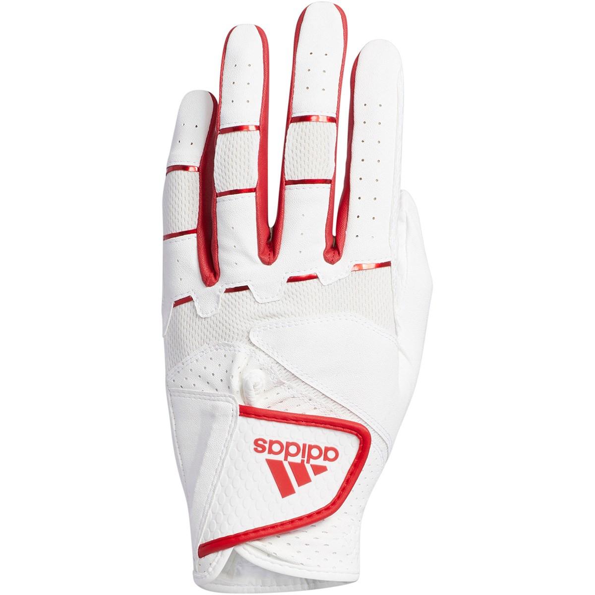 アディダス Adidas ノンスリップ20 グローブ 21cm 左手着用(右利き用) ホワイト/レッド