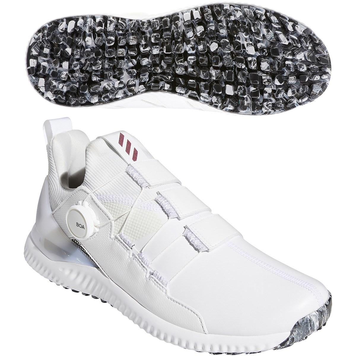アディダス Adidas アディクロス バウンス ボア シューズ 24.5cm ホワイト/コアブラック/クリスタルホワイト