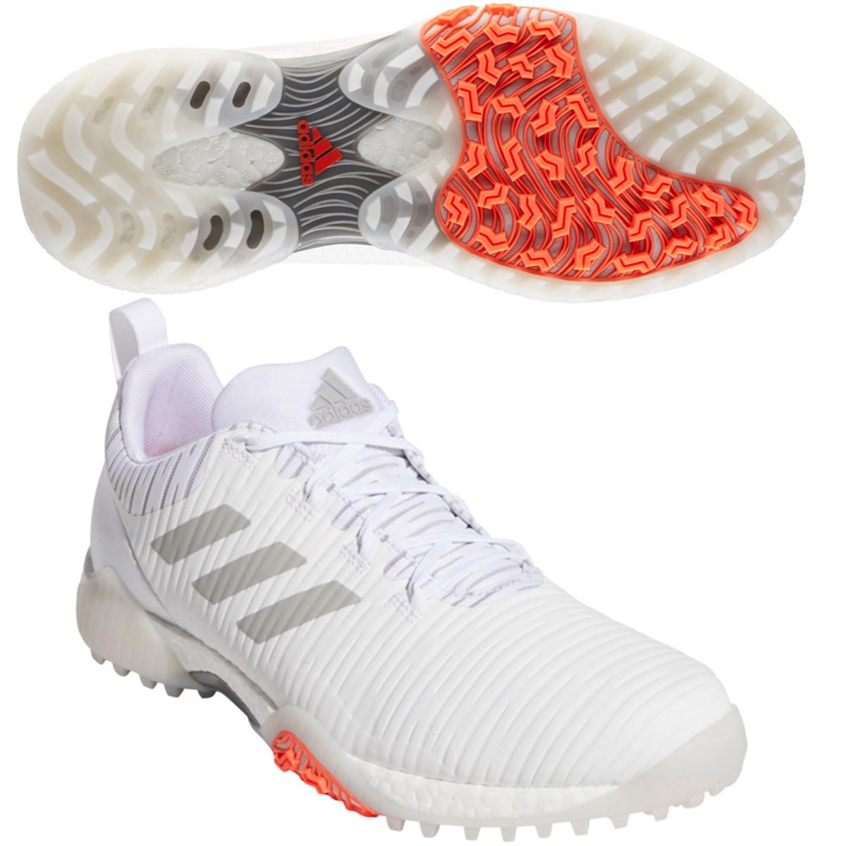 アディダス Adidas コードカオス シューズ 25.5cm ホワイト/メタルグレー/ライトソリッドグレー