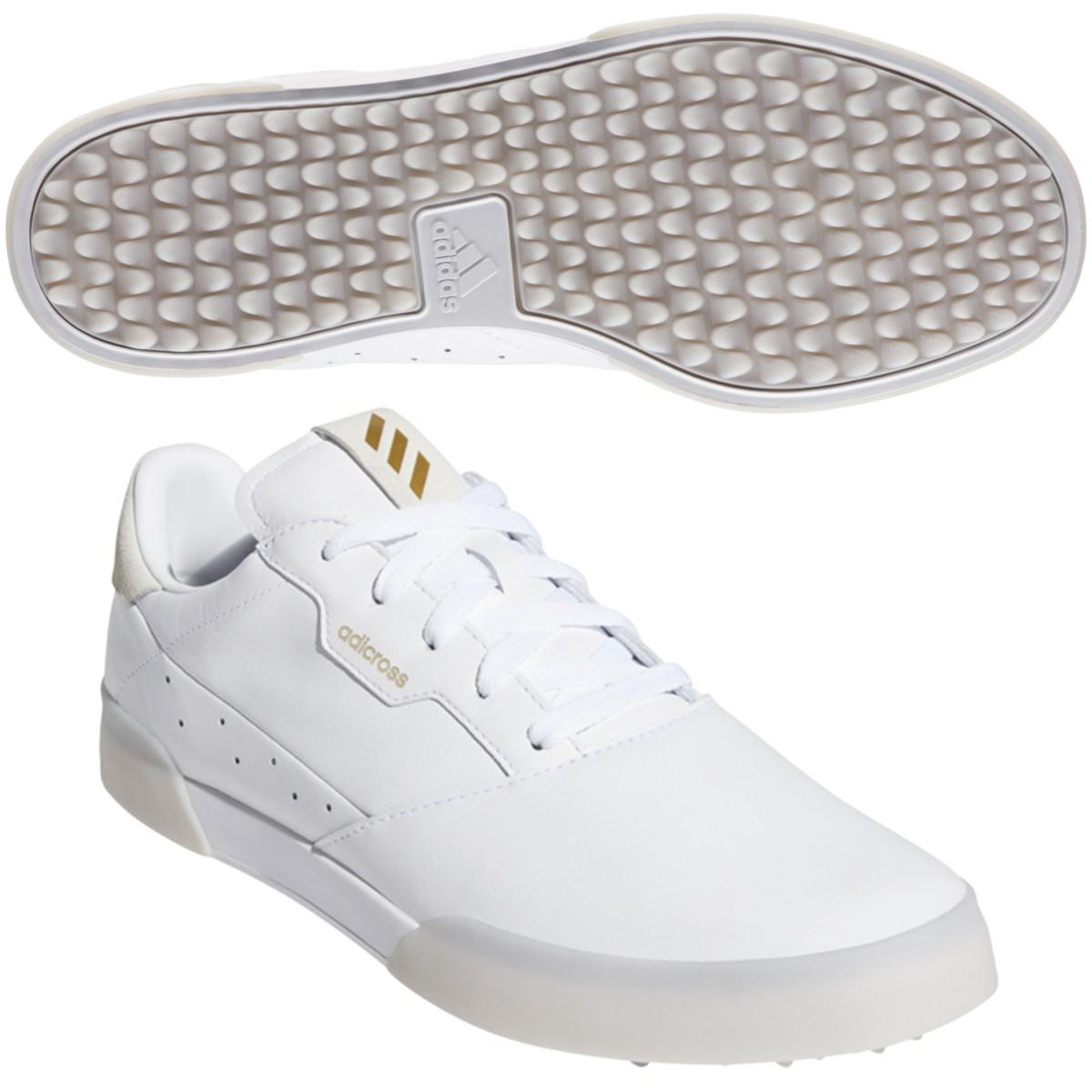 アディダス Adidas アディクロス レトロ シューズ 28cm ホワイト/ゴールドメタリック/クリスタルホワイト