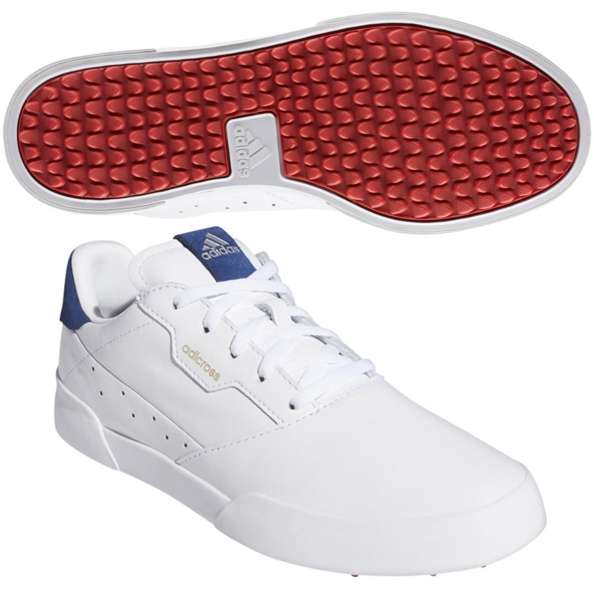 アディダス Adidas アディクロス レトロ シューズ 22.5cm ホワイト/シルバーメタリック/テックインディゴ レディス