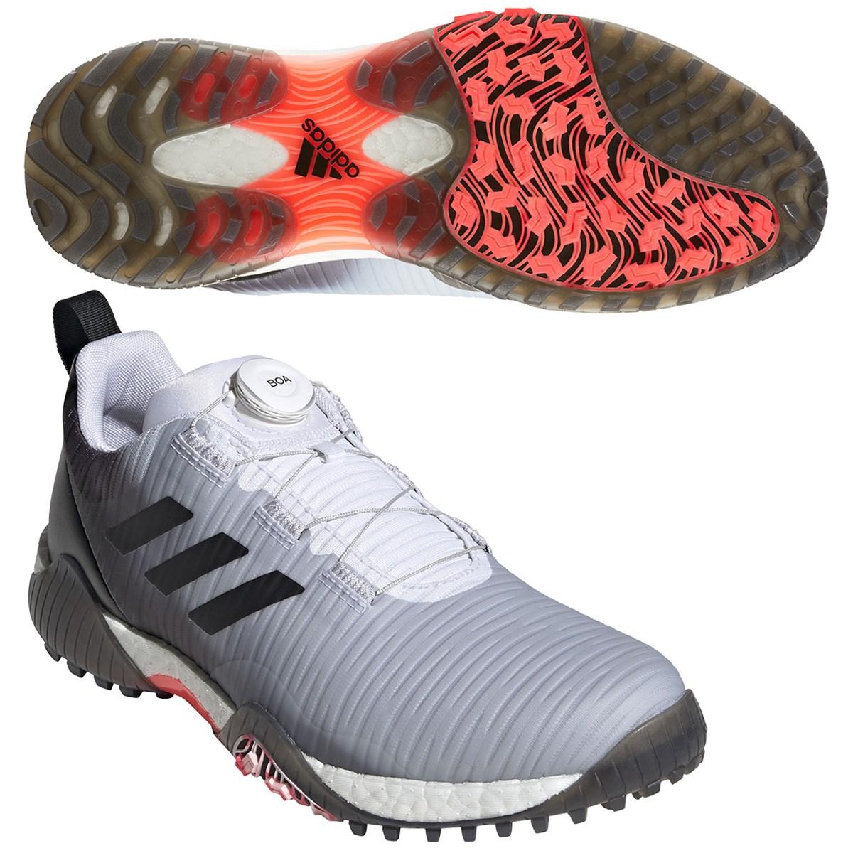 アディダス Adidas コードカオス ボア ロウ シューズ 26cm ホワイト/コアブラック/ライトフラッシュオレンジ