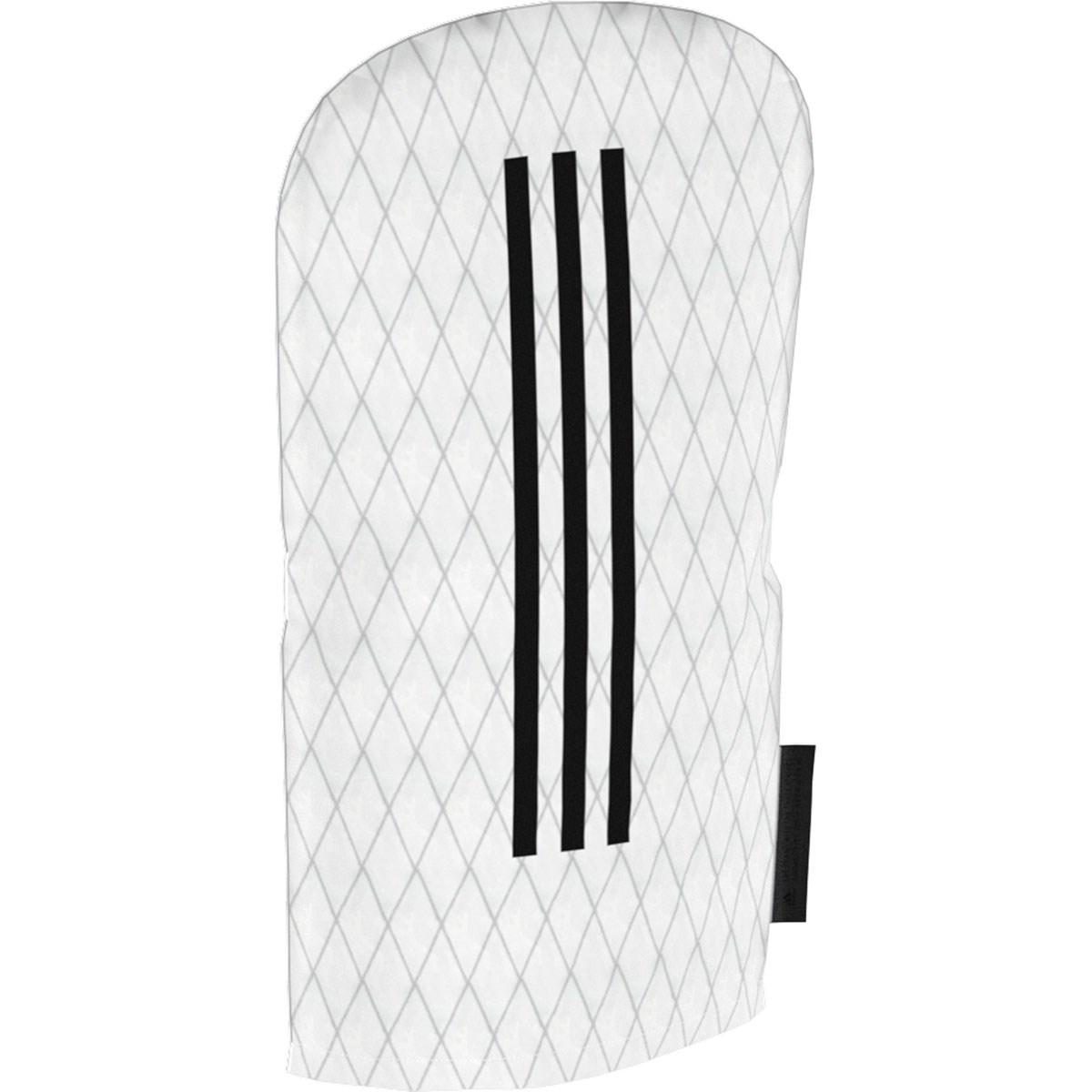 [値下げしました] アディダス adidas 3ストライプ ヘッドカバー DR用 ホワイト メンズ ゴルフ