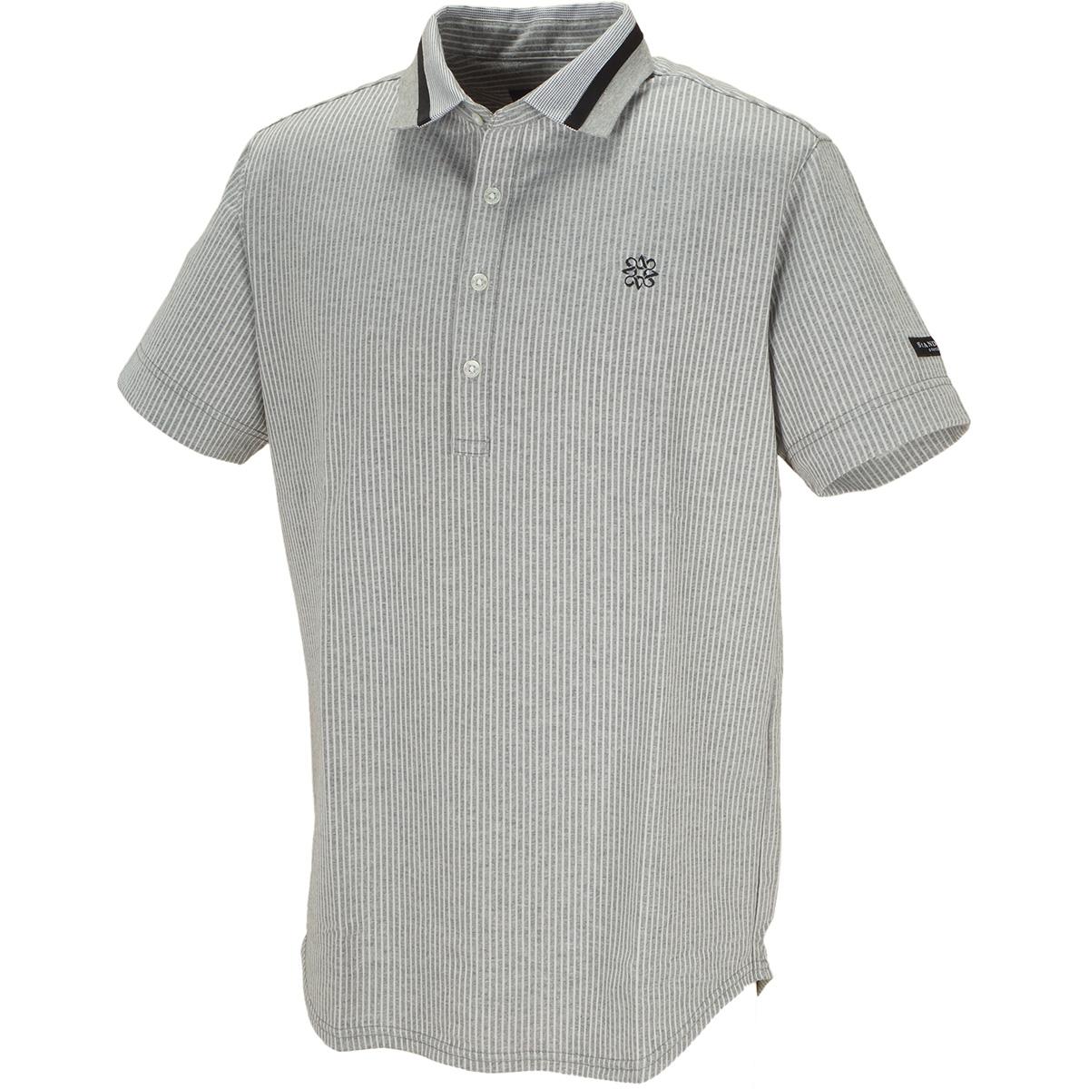 サッカーストライプ 半袖ポロシャツ
