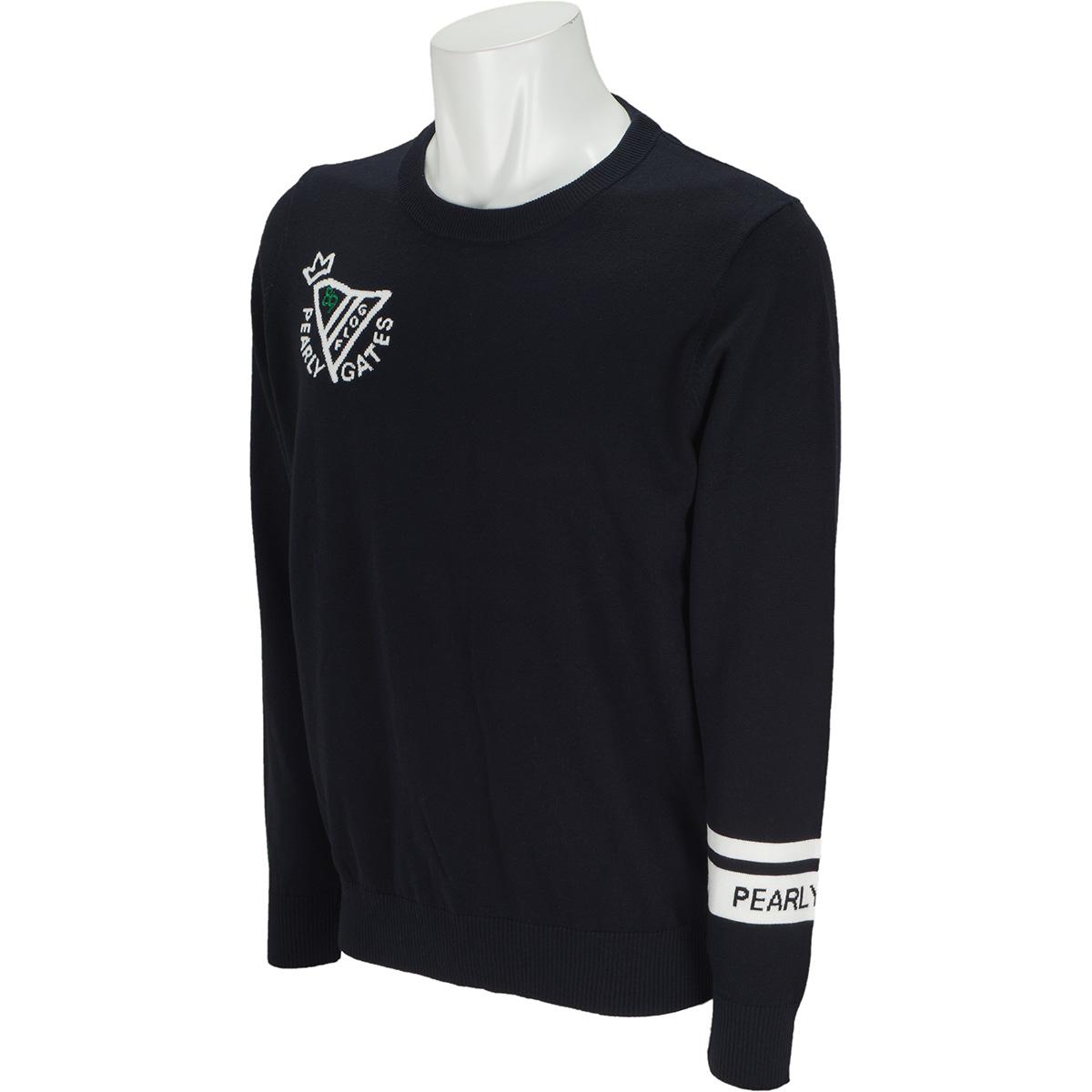 SOFFIO インターシャ 長袖セーター