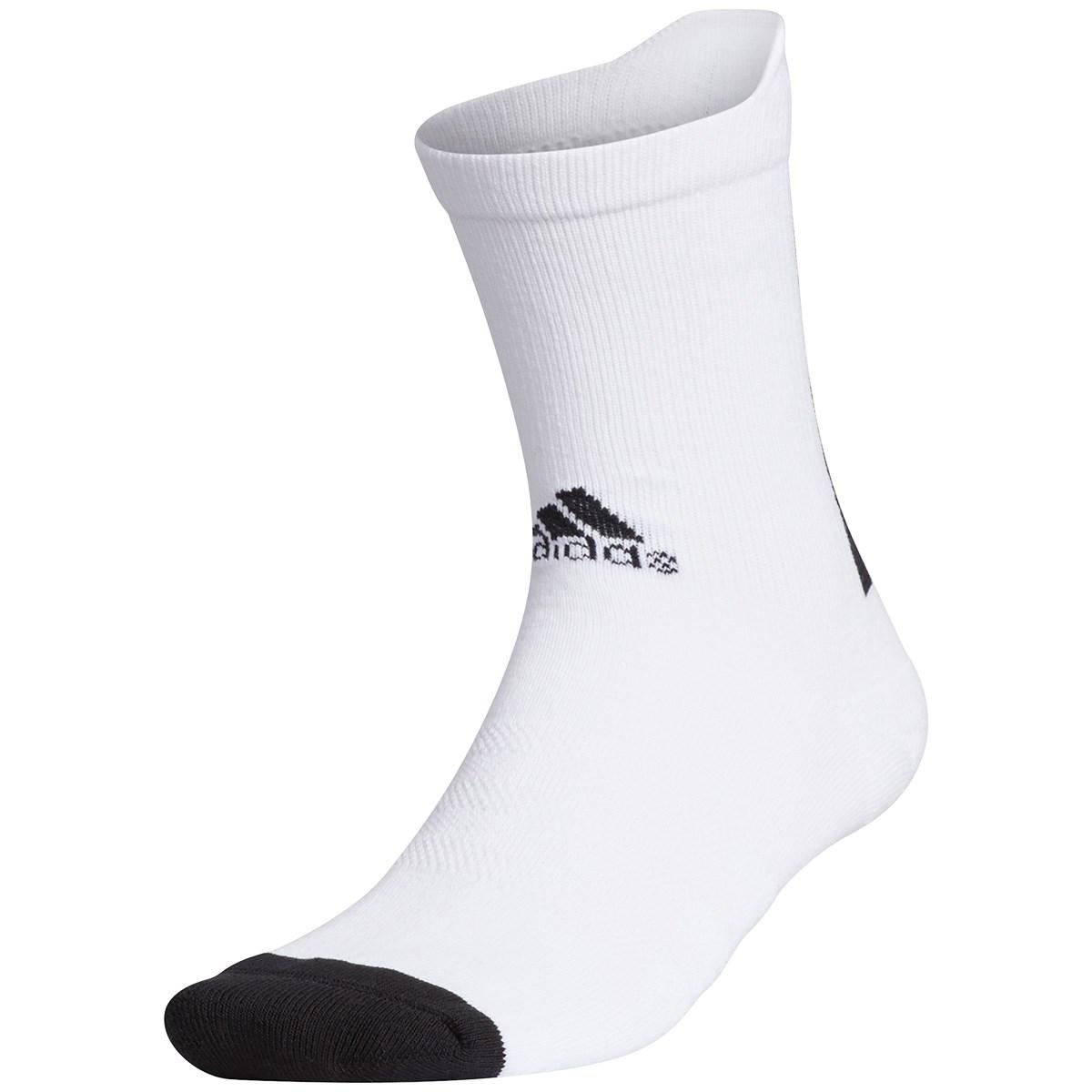 アディダス Adidas クルーソックス M ホワイト/ブラック