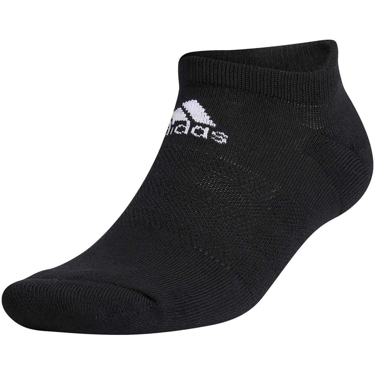 アディダス Adidas ローカットソックス M ブラック/ホワイト