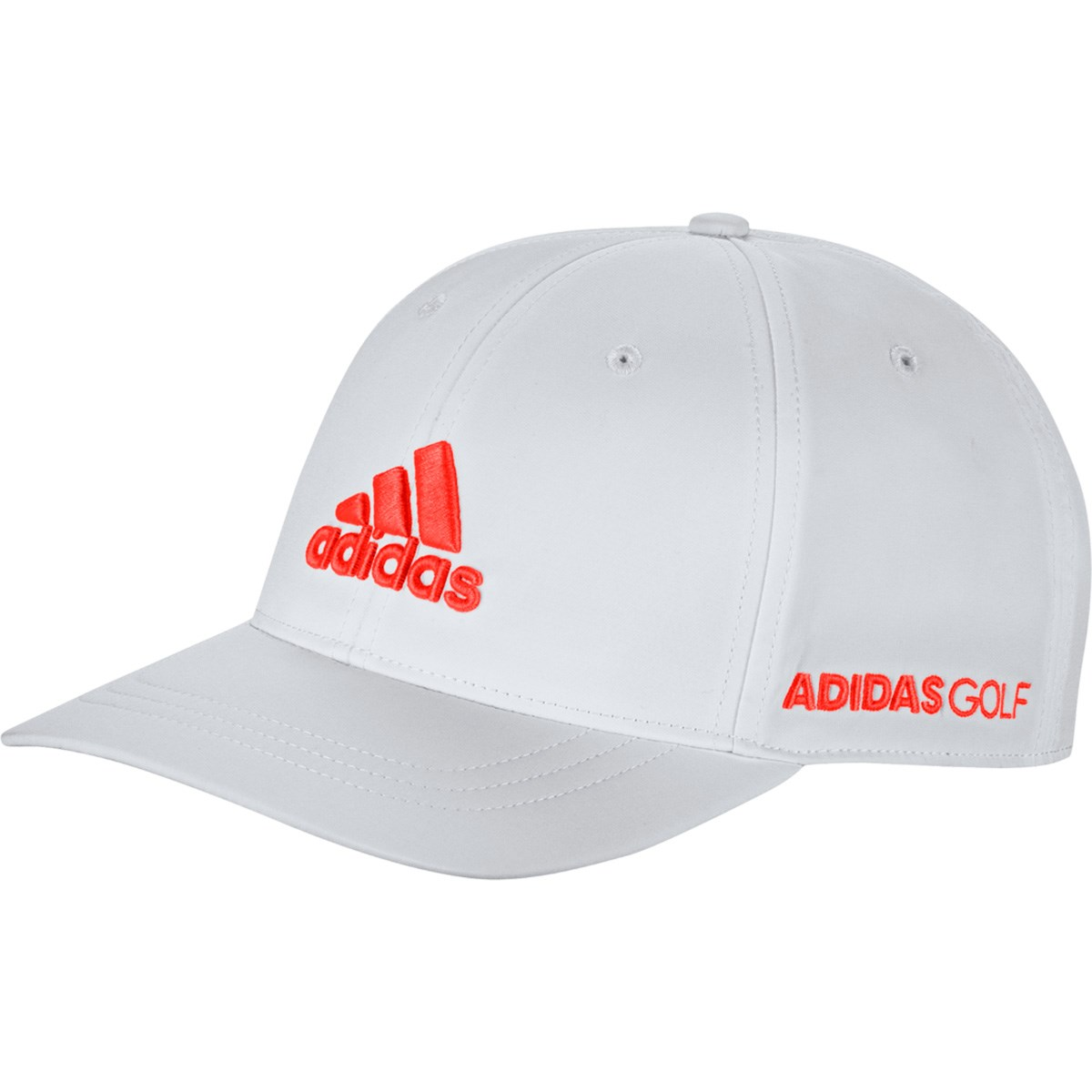 アディダス Adidas ツアーキャップ OSFX ホワイト/ソーラーレッド