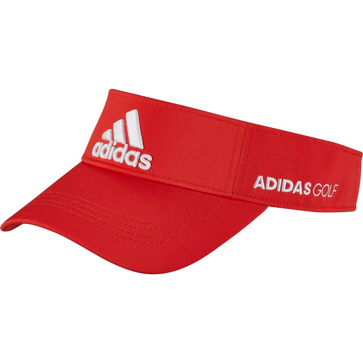 アディダス Adidas ツアーサンバイザー OSFX レッド