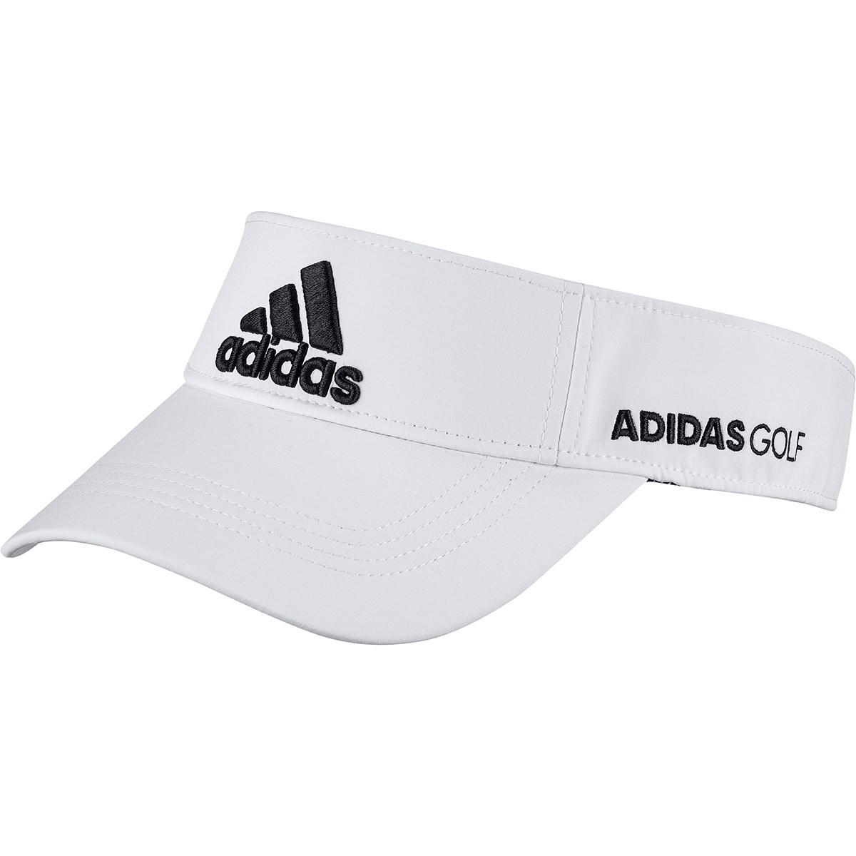 アディダス Adidas ツアーサンバイザー OSFX ホワイト