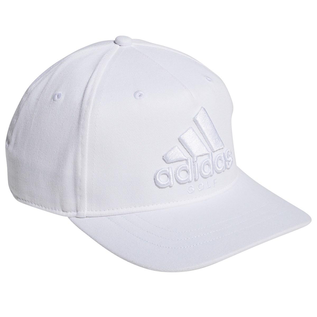 アディダス Adidas トーナルロゴ フラットブリム キャップ OSFX ホワイト