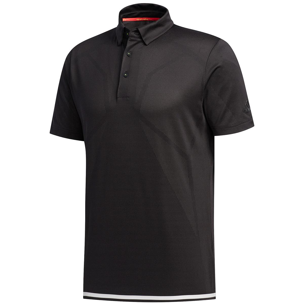 ジャカードベンチレーション 半袖ポロシャツ