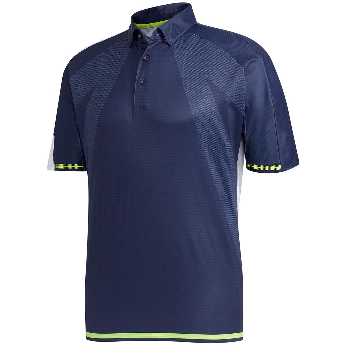 シングルパネル 半袖ポロシャツ