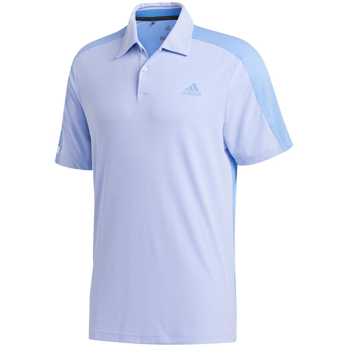 AEROREADY 半袖ファブリックミックスポロシャツ