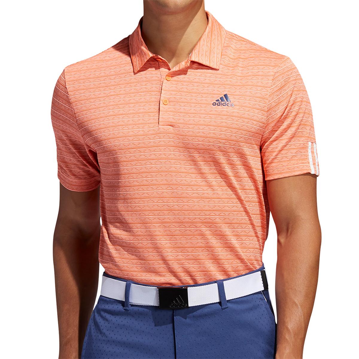 メランジジャカード 半袖ポロシャツ