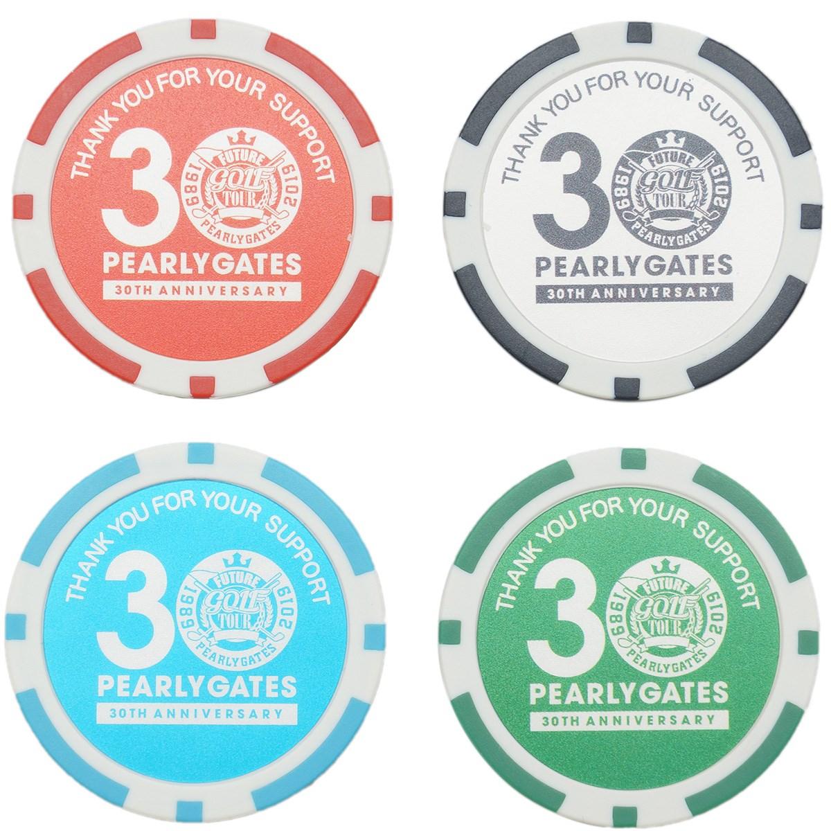 パーリーゲイツ FUTURE TOUR カジノマーカー 4個セット