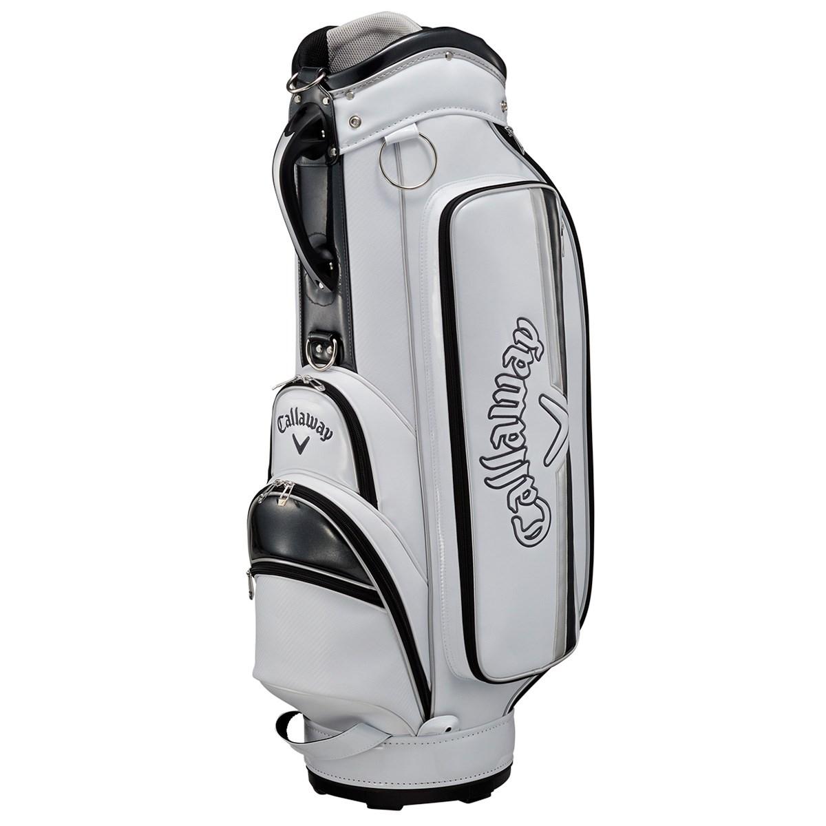 キャロウェイゴルフ Callaway Golf SOLID JM キャディバッグ ホワイト/シルバー