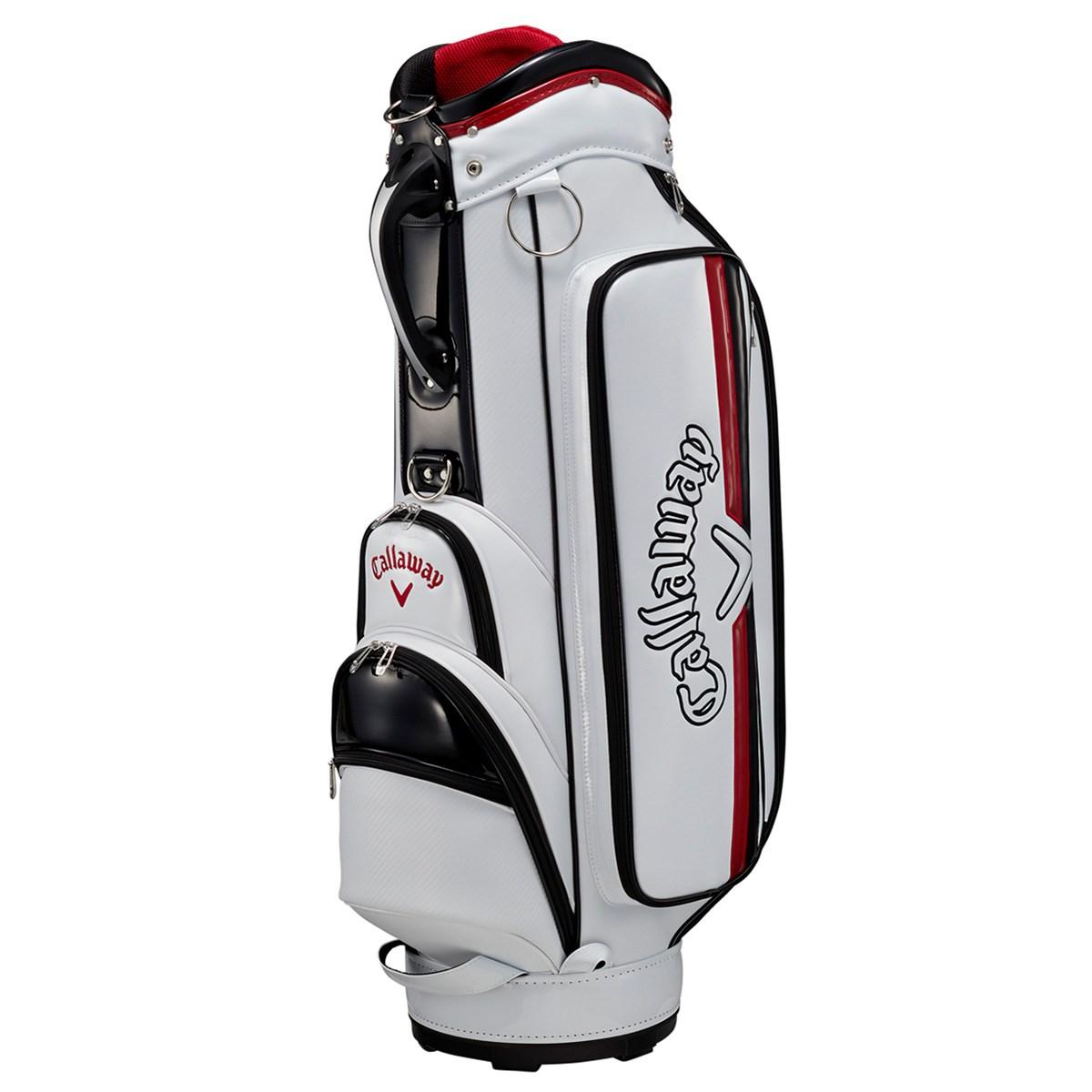 キャロウェイゴルフ Callaway Golf SOLID JM キャディバッグ ホワイト/ブラック