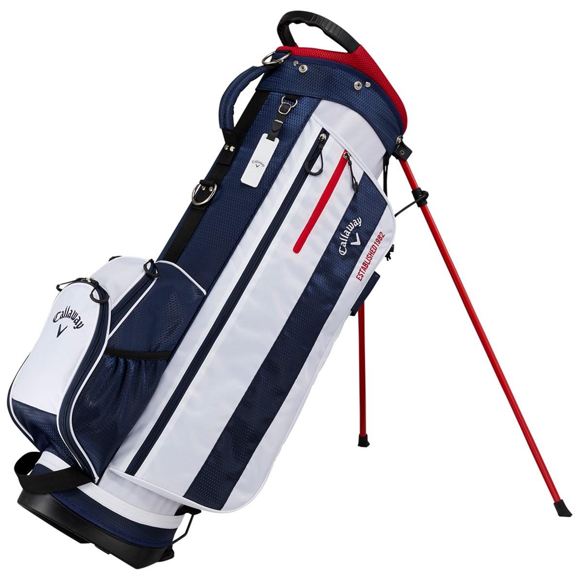 キャロウェイゴルフ Callaway Golf CHEV JM スタンドキャディバッグ ホワイト/ネイビー