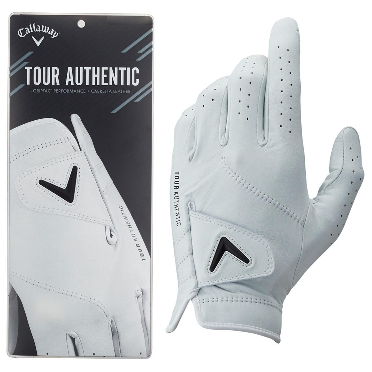 キャロウェイゴルフ Callaway Golf TOUR AUTHENTIC JV グローブ 23cm 左手着用(右利き用) ホワイト