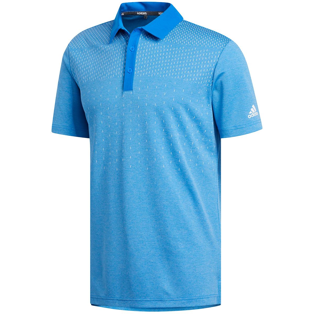 チェストプリント 半袖ポロシャツ