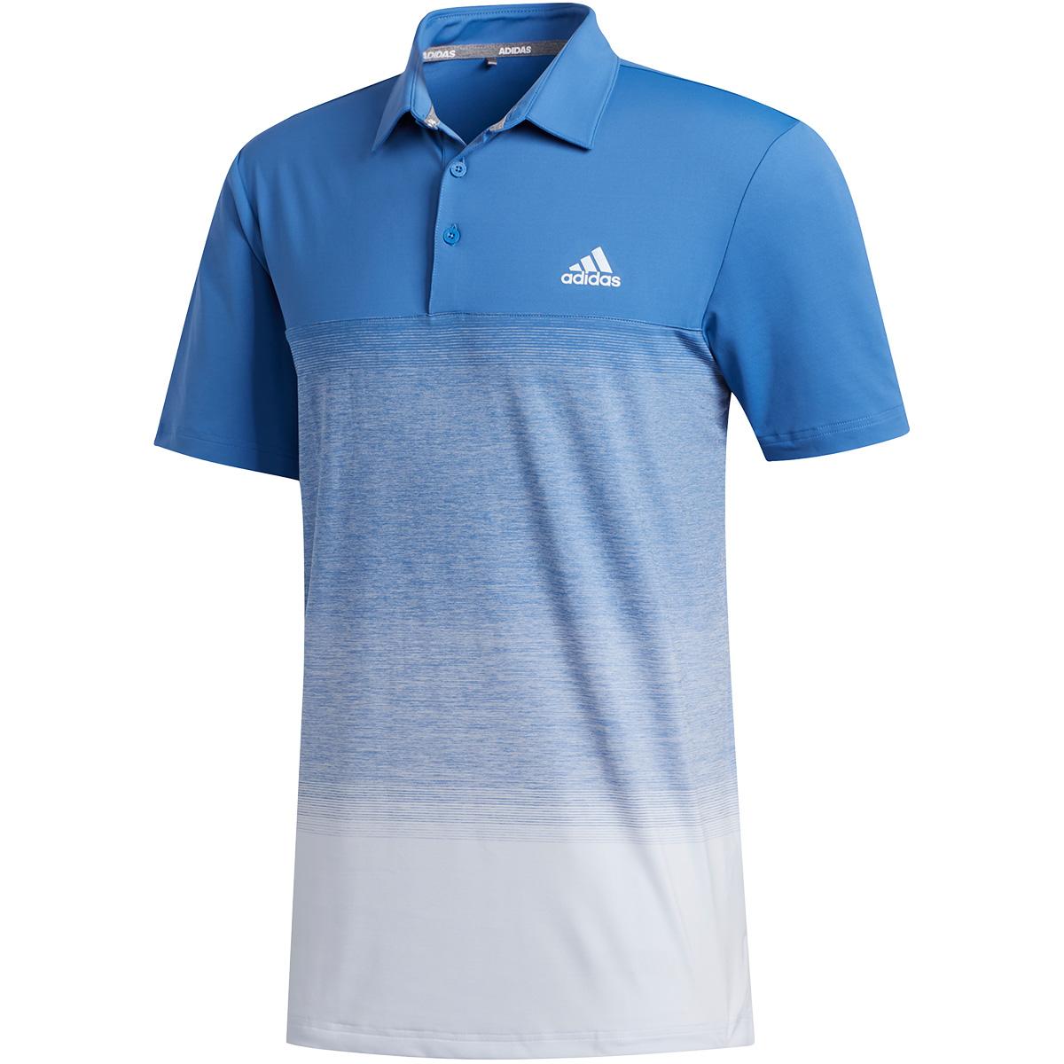 ULTIMATE365 メランジプリント 半袖ポロシャツ