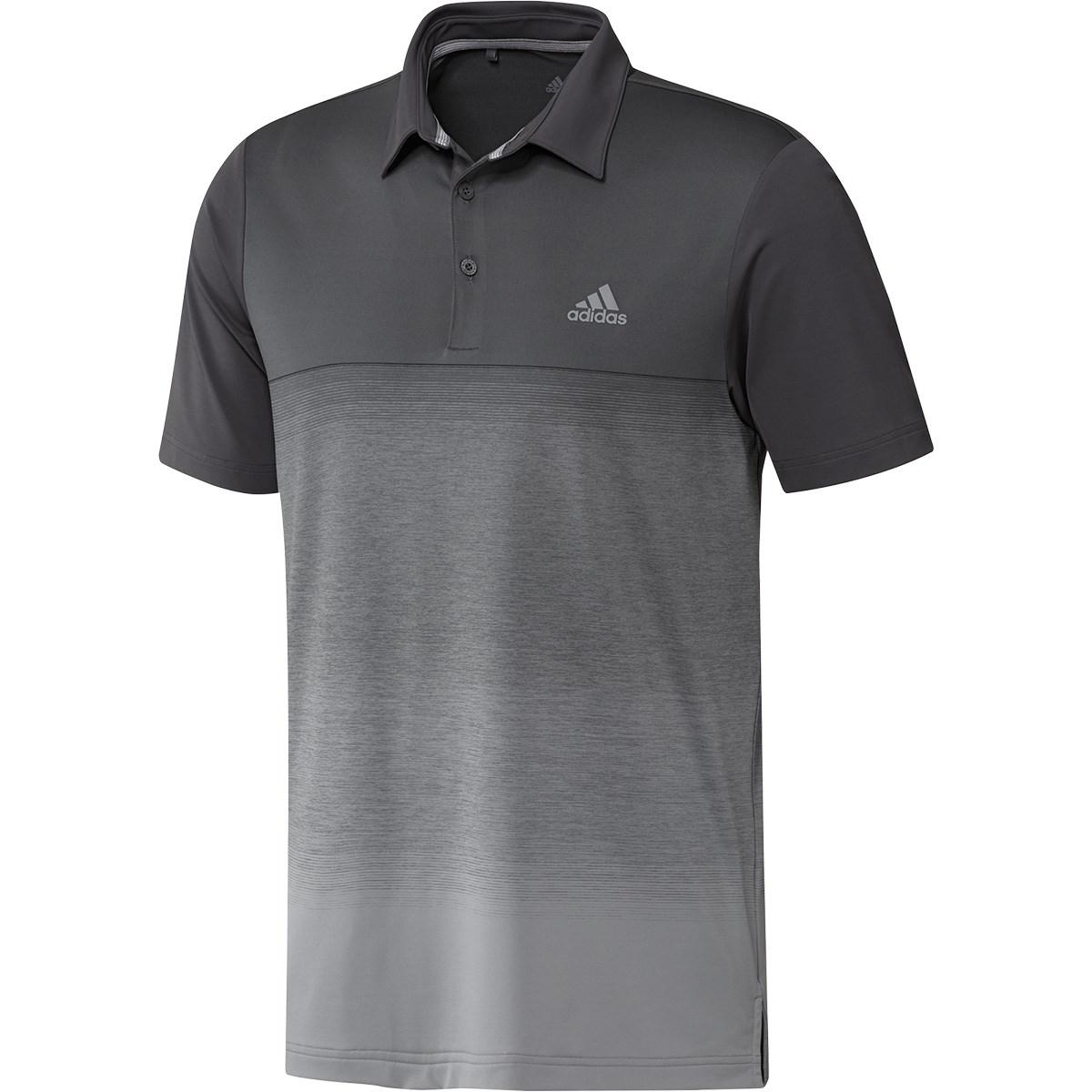 アディダス(adidas) ULTIMATE365 メランジプリント 半袖ポロシャツ