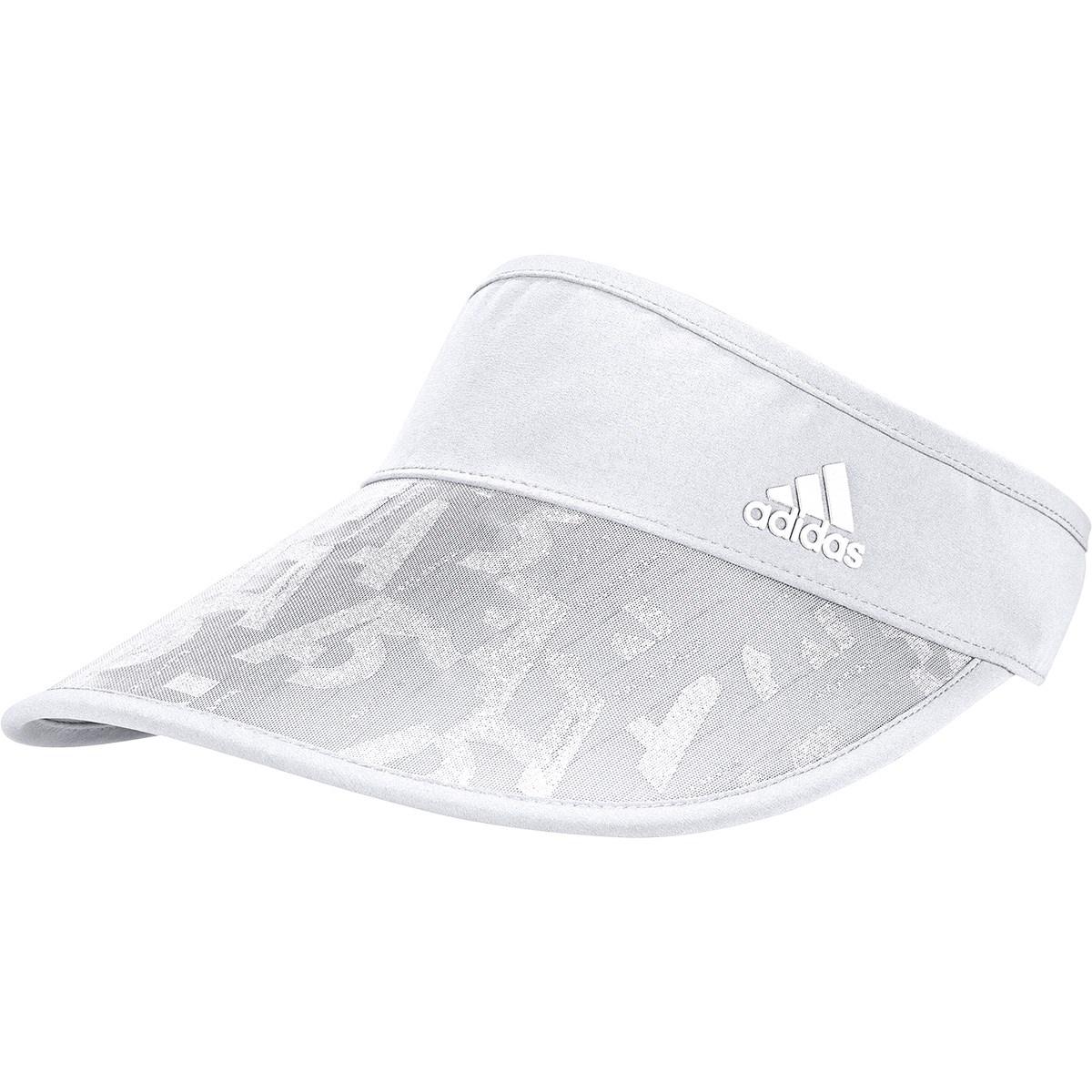 アディダス Adidas コンパクト UVサンバイザー OSFW ホワイト レディス