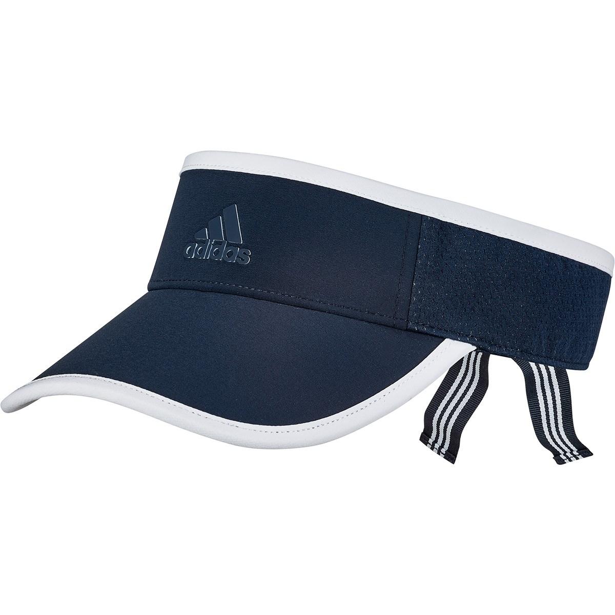 アディダス Adidas HEATREADY UVサンバイザー OSFW カレッジネイビー レディス