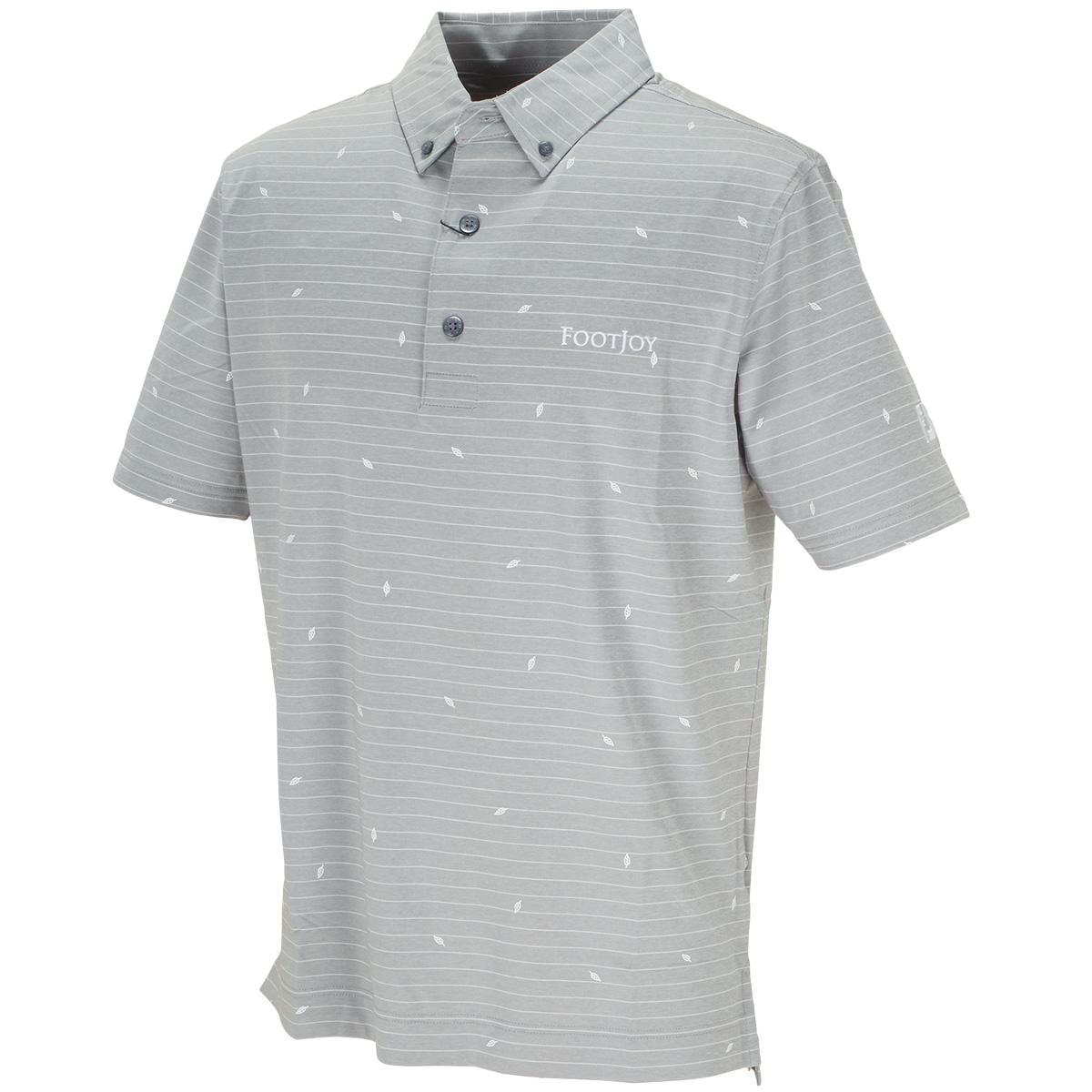 リーフプリント ライル半袖ポロシャツ