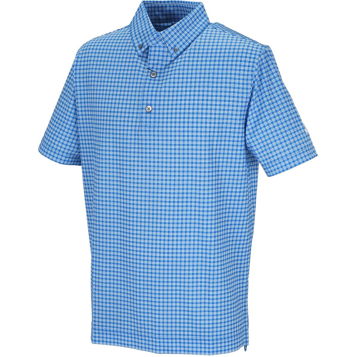 プレイドチェック ライル半袖ポロシャツ
