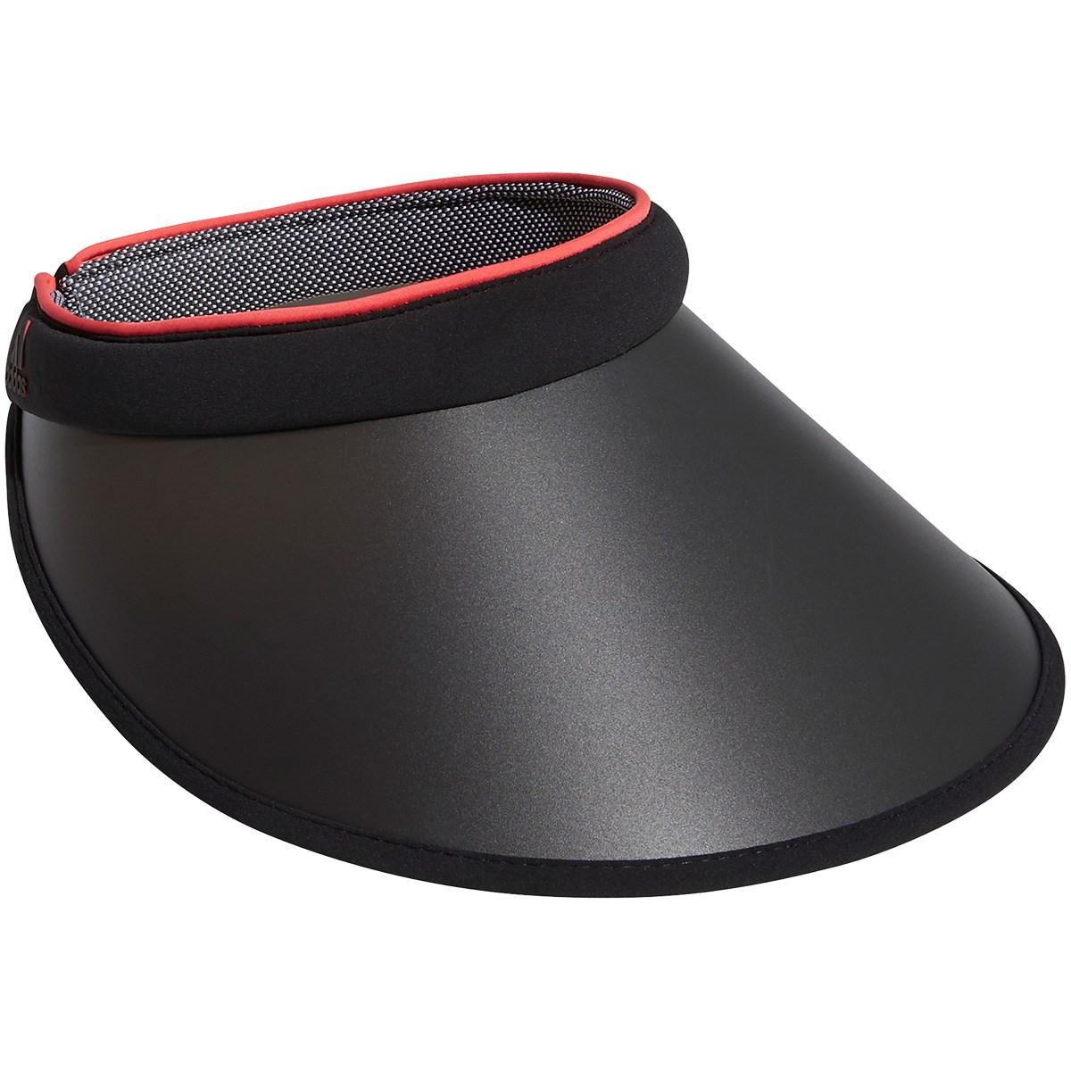 アディダス Adidas UVクリップサンバイザー OSFW ブラック レディス