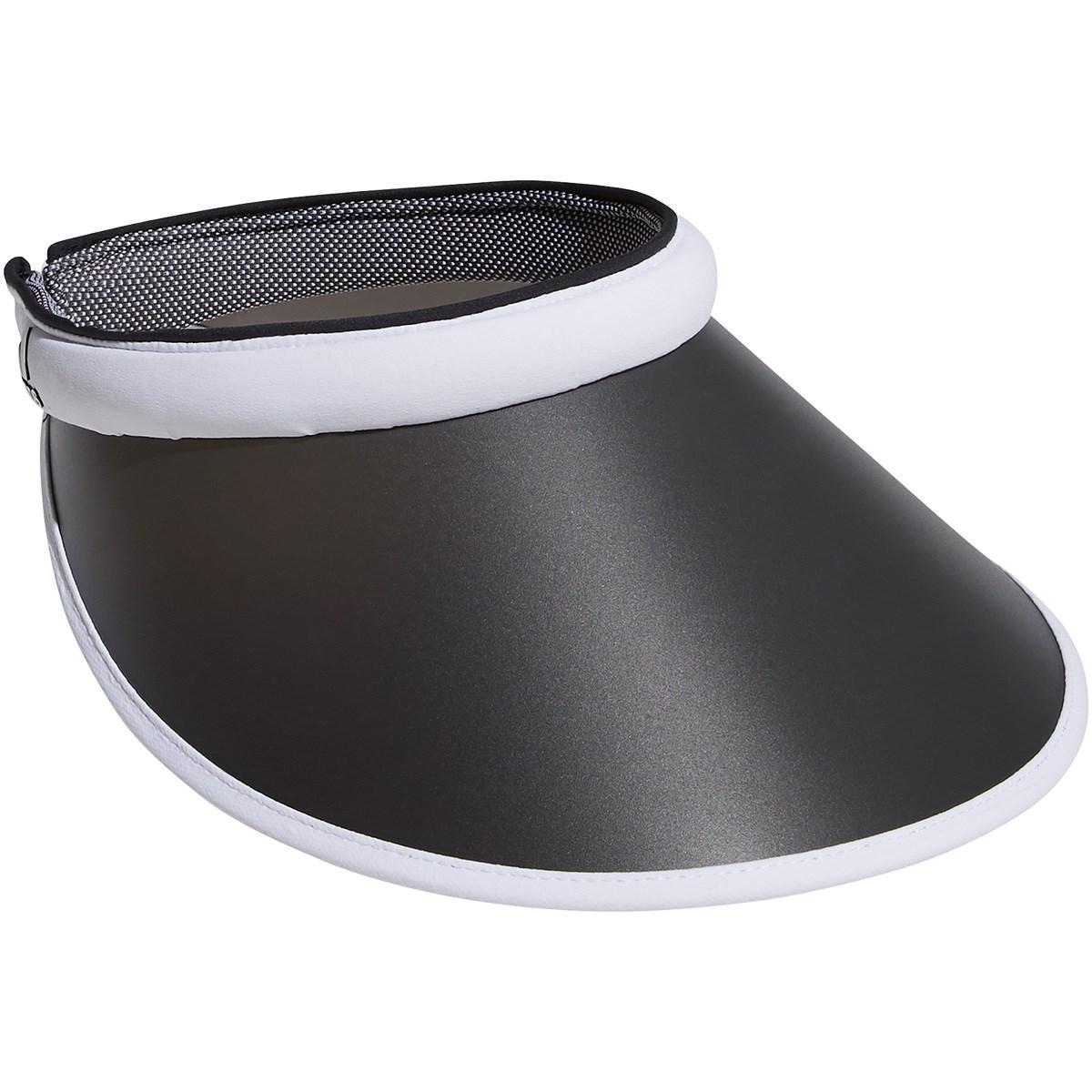 アディダス Adidas UVクリップサンバイザー OSFW ホワイト レディス
