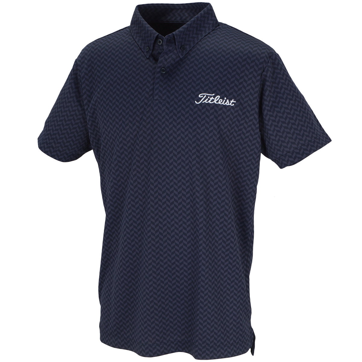 ツアーフラッグシップモデル ストレッチ ヘリンボーンクーリング半袖ポロシャツ